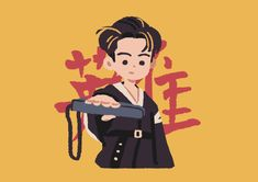 People Illustration, Cute Illustration, Character Illustration, Kpop Drawings, Cute Drawings, Cute Pastel Wallpaper, Pop Stickers, Mark Nct, Kpop Fanart