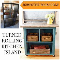 26 eco pages             : Πως να φτιάξεις ένα τρόλεϊ κουζίνας από παλιά βιβλ...