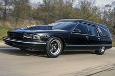 The 1996 Chevrolet Caprice that has been turned into what could be the fastest hearse in the world.