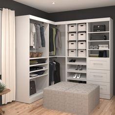 Pur by Bestar Corner Kit - Overstock™ Shopping - Great Deals on Closet Storage