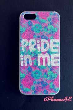 iPhone5/5s Multi-color pride in me hard case shop at www.etsy.com/shop/iphoneae