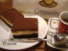 Gabriela's blog: PRĂJITURĂ CREME A LA CREME Chocolate Fondue, Tiramisu, Creme, Cheesecake, Deserts, Ethnic Recipes, Blog, Cheesecakes, Postres