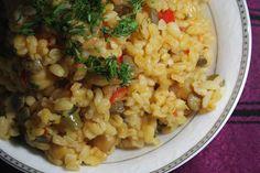 Risotto, Grains, Rice, Ethnic Recipes, Food, Bulgur, Essen, Meals, Seeds