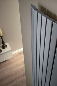 Heizkorper modern wohnzimmer  Design Heizkörper Horizontal Weiß 1135 Watt 633mm x 1180mm Revive ...