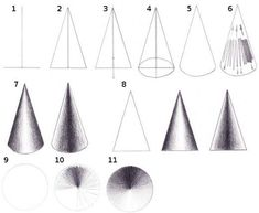 How to draw 3D shapes with shading | Process: Drawing | Pinterest ...