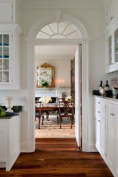 Style At Home, Sweet Home, Transom Windows, Arch Windows, Arch Doorway, Arched Doors, Entrance, Style Deco, Interior Decorating