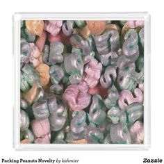 Packing Peanuts Novelty Acrylic Tray off Food Serving Trays, Food Trays, Finding Yourself, Make It Yourself, Unusual Things, Peanuts, Your Favorite, Packing, How To Make