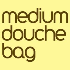 Medium Douche Bag
