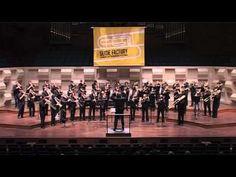 Mass trombone choir!