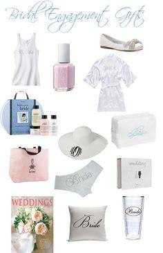 Bridal Engagement Gifts - Beaux & Belles blog