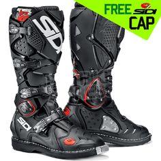 Sidi Crossfire2 Motocross Boots - Black