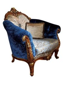 Antique Furniture Reproduction , Italian Classic Furniture :: Sofa Set in Victorian Style ( Victorian Salon Furniture )