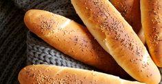 Good taste: Rolls - Slovak & Czech & Polish & Russian Recipes and advices - Czech Recipes, Russian Recipes, Ethnic Recipes, Pan Bread, Bread Baking, Bread Recipes, Cooking Recipes, Croissant Bread, Bread Dough Recipe