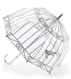 You can't read these instructions but what a fun DIY for a plain, clear umbrella!