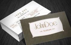 Resultado de imagem para classic business card