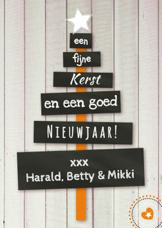 Kerstkaart kerstboom eigen tekst 1 #kerstkaart #schoolbord #kerstboom @kaartje2go