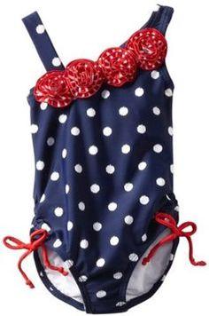 1dc4f386a0 Hartstrings Girls 2-6X Toddler Americana One Piece Bathing Suit - ShopStyle  Swimwear
