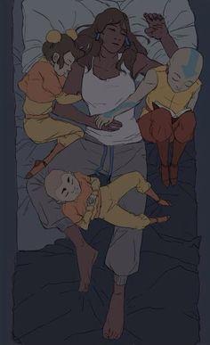 The kids comforting Korra - Avatar the Last Airbender. The Legend of Korra. Avatar Aang, Avatar Funny, Team Avatar, The Last Avatar, Avatar The Last Airbender Art, Zuko, Legend Of Korra, Avatar Fan Art, Avatar World