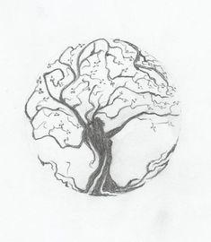 tree drawings - Buscar con Google