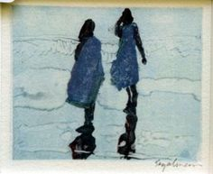 Journal of a Nobody Expressive Art, Figure Painting, Journal, Water Colors, Illustrations