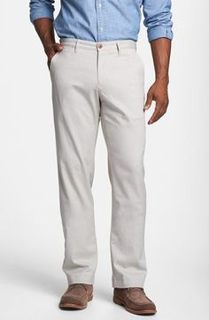Tommy Bahama 'Bryant' Flat Front Pants available at #Nordstrom
