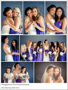 Fun, genuine, portraits with bridesmaids- must do wedding picture list