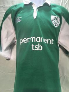 1052a542f Authentic Canterbury CCC IRFU Irish Rugby Jersey Men s Size XL St. Patricks  Day