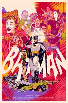 Mondo célèbre les 75 ans de Batman avec une immense galerie de posters