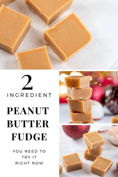 rich low carb peanut butter fudge is easy, tastes delicious, and no-one will no it is sugar free (and only 2 ingredients)!This rich low carb peanut butter fudge is easy, tastes delicious, and no-one will no it is sugar free (and only 2 ingredients)! Sugar Free Fudge, Sugar Free Peanut Butter, Low Carb Peanut Butter, Sugar Free Desserts, Sugar Free Recipes, Keto Desserts, Easy Peanut Butter Fudge, Easy Fudge, Sweetened Condensed Milk Fudge