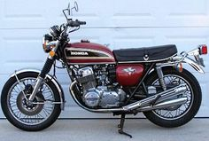 My '76 Honda 750...well this isn't mine but I had one for 10 years.: