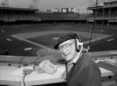 """The Voice of the Tigers"" - Ernie Harwell..."