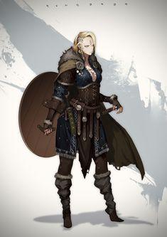 Fantasy Female Warrior, Female Knight, Fantasy Armor, Dark Fantasy Art, Fantasy Girl, Female Character Design, Character Design Inspiration, Character Concept, Character Art