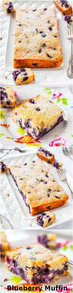 Blueberry.Muffin.and.Buttermilk.Pancakes.Cake #recipe #love