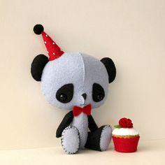 panda by Gingermelon, via Flickr