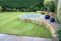Image of: Easy Landscape And 24 Simple Backyard Landscaping Ideas Which Look Inside Backyard Landscaping Plans Cheap Backyard Landscaping Plans Small Backyard Gardens, Small Backyard Landscaping, Backyard Garden Design, Small Garden Design, Landscaping Tips, Small Gardens, Lawn And Garden, Backyard Ideas, Garden Edging
