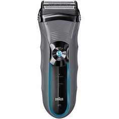 Votre homme est plus électrique que traditionnel ? Qu'à cela ne tienne ! Cette tondeuse électrique & rasoir Braun saura le séduire !
