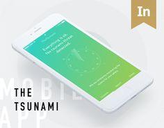 다음 @Behance 프로젝트 확인: \u201cTheTsunami app\u201d https://www.behance.net/gallery/48862623/TheTsunami-app
