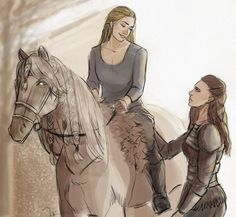 Clexa FanArt Collection — fast-baby-turtle:   training