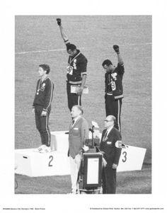 Black Power (Tommie Smith & John Carlos, Olympics, 1968) Photo Print Poster Masterprint from AllPosters.com