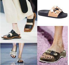 yaz modası terlik tipi bayan ayakkabı modelleri 2016