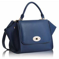 Navy Flap Satchel Satchel, Handbags, Navy, Women, Fashion, Totes, Moda, Women's, La Mode