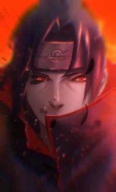 Itachi Uchiha, Naruto Shippuden Sasuke, Anime Naruto, Itachi Akatsuki, Naruto Sasuke Sakura, Anime Guys, Konoha Naruto, Sasuke Eyes, Naruto Cool