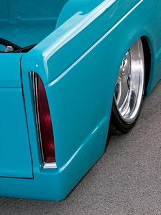Chevy S10 Chevrolet Bagged Trucks Mini Lowrider Rear