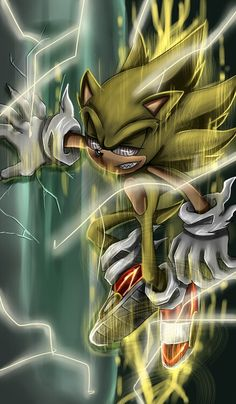 Fleetway Super Sonic so cooooooool.