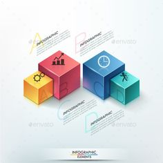 Modern Infographic Options Template - #Infographics Download here: https://graphicriver.net/item/modern-infographic-options-template/12829679?ref=alena994