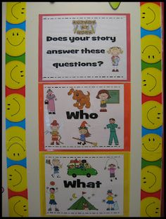 Writing - Who, what, where, when, why