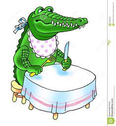 Crocodile Teeth Reptile Cartoon Humor Stock Illustration - Illustration of predator, fork: 60600585 Cartoon Clip, Cartoon Pics, Florida Gators Football, Kids Menu, Crocodiles, Whimsical Art, Funny Cartoons, Predator, Reptiles