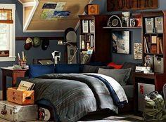 Diy bedroom decor for teens, boys room design, teen bedroom designs, Guy Dorm Rooms, Teen Boy Rooms, Cool Dorm Rooms, Teen Girl Bedrooms, Awesome Bedrooms, Teen Boys, Pb Teen, Bed Rooms, Girl Rooms