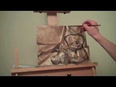 How to Oil Paint - Underpainting