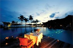 The danna langkawi is located close to langkawi beach. Another point of interest is datai golf club.